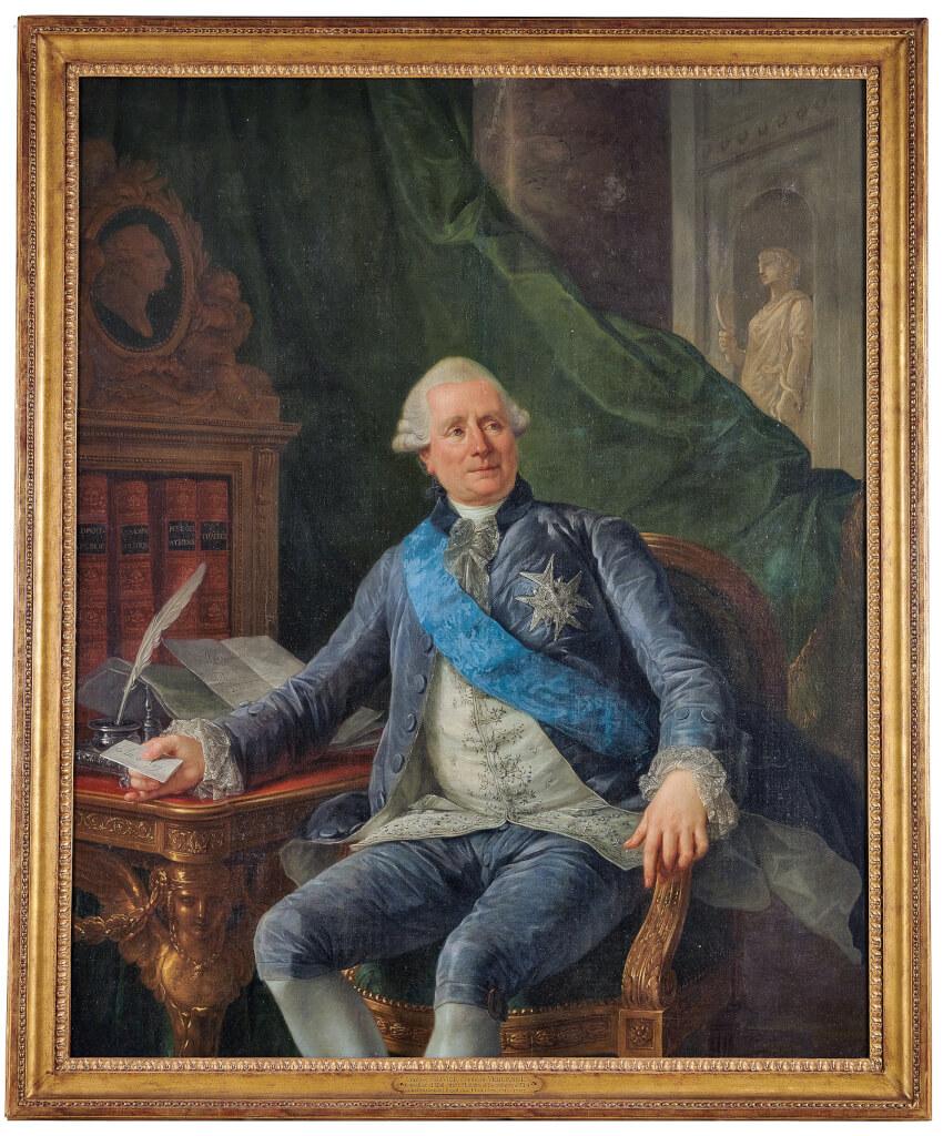 Portrait de Charles Gravier, comte de Vergennes, ministre, par Antoine-François Callet