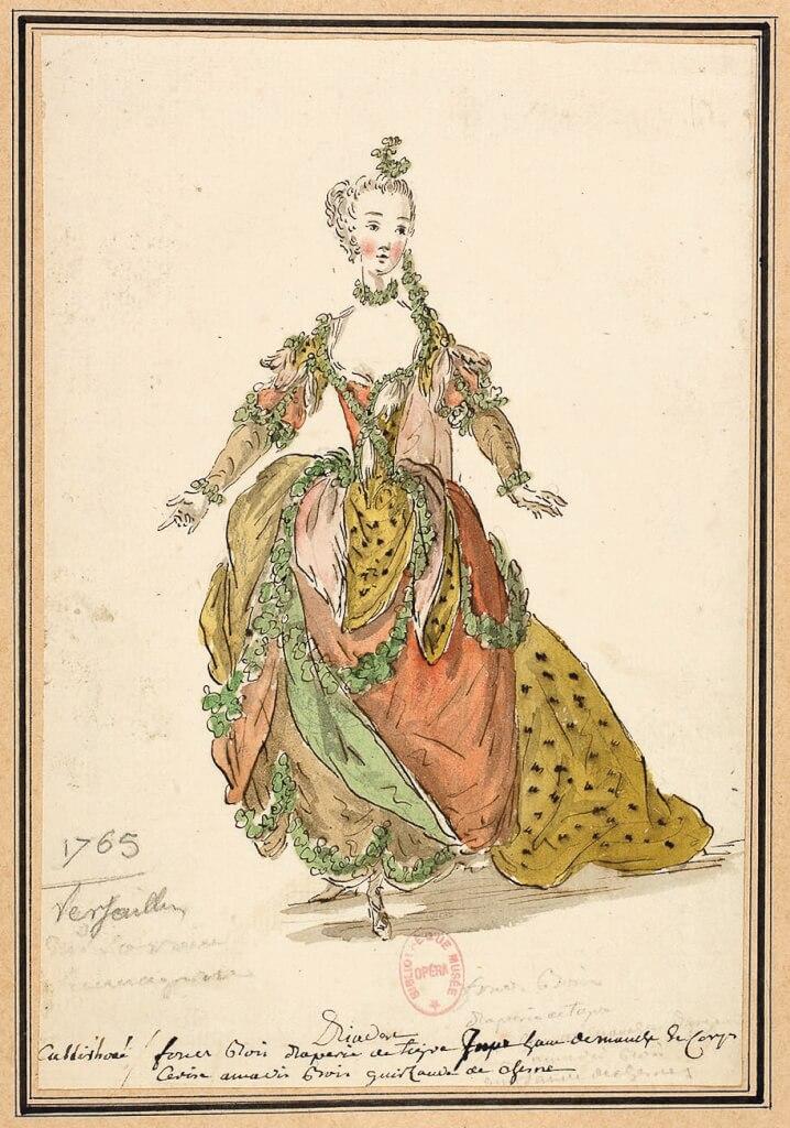 Maquette de costume deLouis-René Boquet