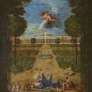 Vue des Parterres de Trianon avec Flore et Zéphyr, Jean Cotelle