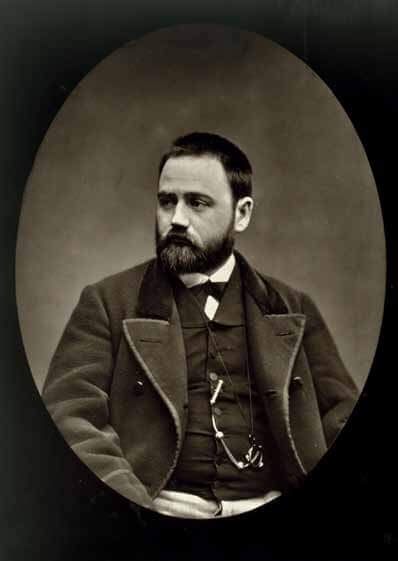 Émile Zola, 1877. Étienne Carjat, photographie. Collection privée