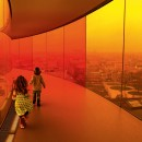 Olafur Eliasson : Your rainbow panorama on the roof of Museum of Modern Art in Denmark