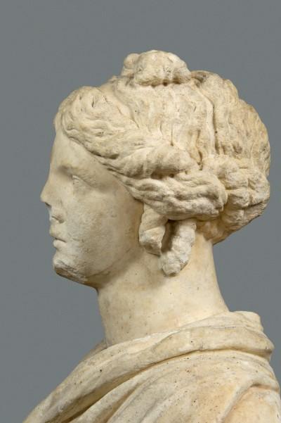 Buste de dame romaine, anonyme