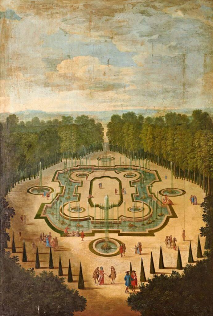 La salle des festins ou salle du Conseil, vers 1688, Etienne Allegrain (1644-1736)
