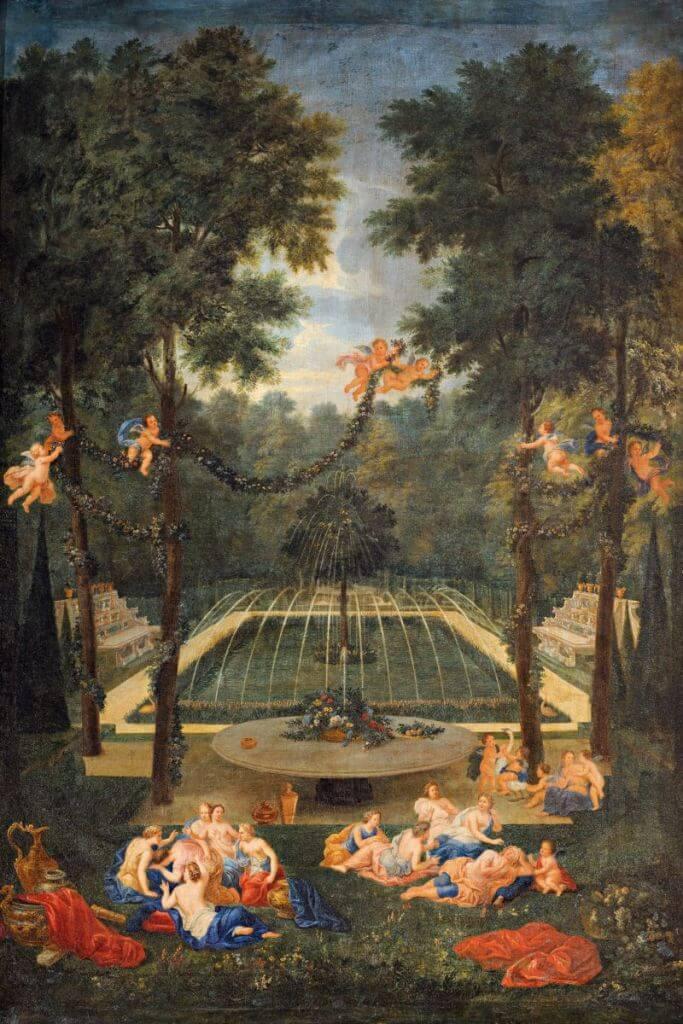 Vue du bosquet du marais avec Vénus consolant la nymphe Écho, Jean Cotelle (1645-1708)